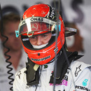 Michael Schumacher mentally prepares himself