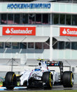 Susie Wolff at the wheel of the Williams