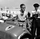 Tazio Nuvolari and his Alfa Romeo