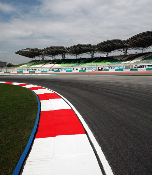 Turn 2 at Sepang