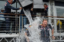 Adrian Newey and Christian Horner take on the ALS Ice Bucket Challenge