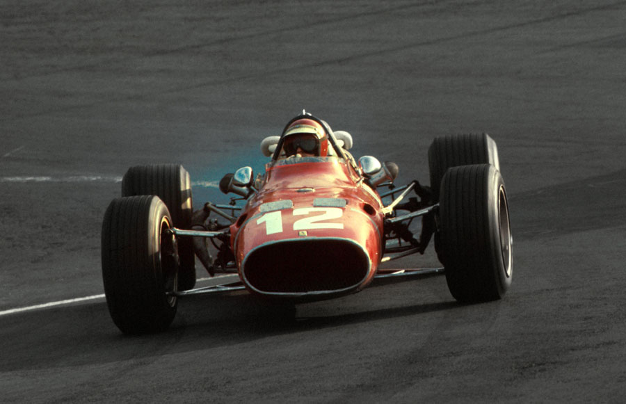 Jonathan Williams during his solitary F1 appearance