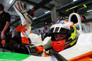 Paul di Resta gets ready to hit the track