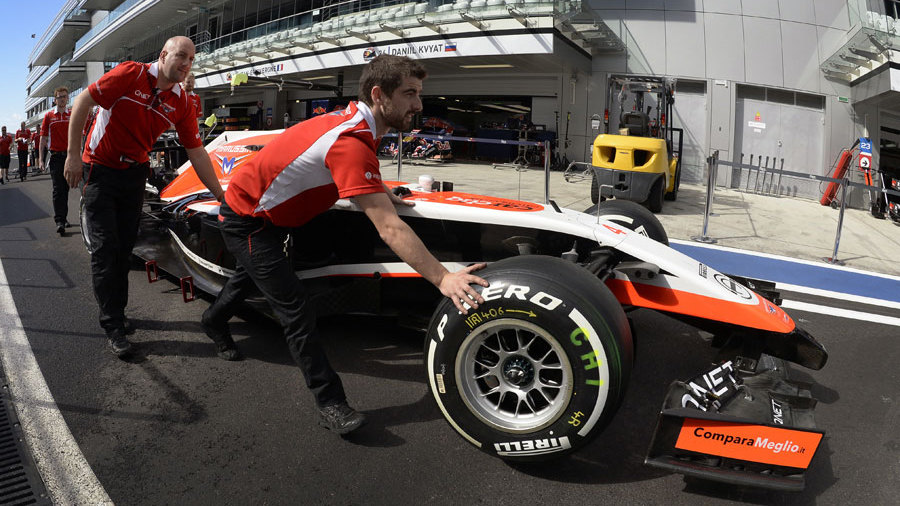 Marussia To Race With One Car In Russia