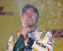 Jolyon Palmer celebrates his championship victory