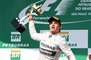 Nico Rosberg celebrates victory