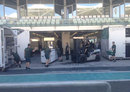 Caterham readies the garage after its return to the grid