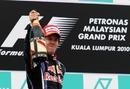 Sebastian Vettel savours victory