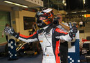 McLaren junior Stoffel Vandoorne celebrates his feature race victory