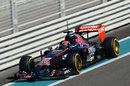 Max Verstappen in action in the Toro Rosso
