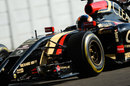 Alex Lynn gets behind the wheel of the Lotus