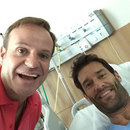 Rubens Barrichello visits Mark Webber in hospital after his big World Endurance Championship crash