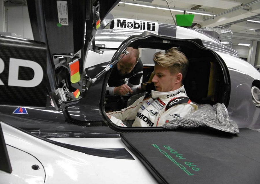Nico Hulkenberg prepares for his first test with Porsche
