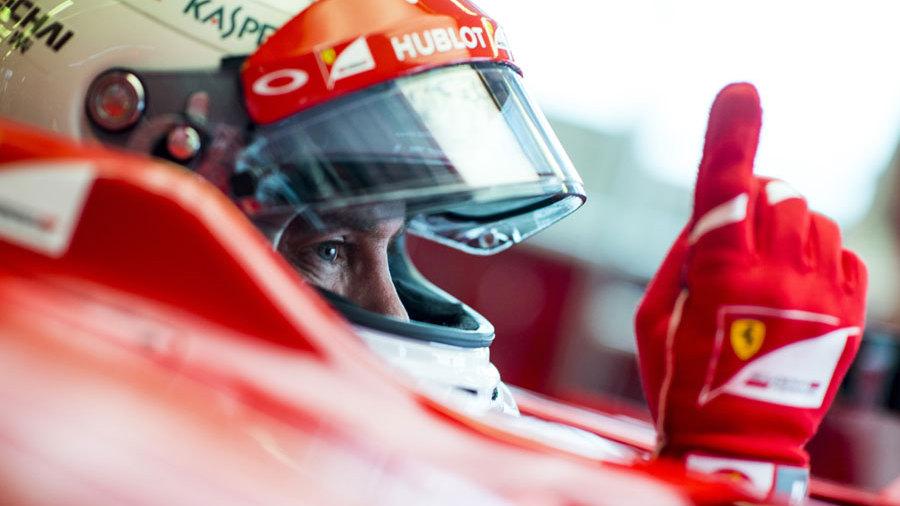 Ferrari releases Vettel 2015 car teaser