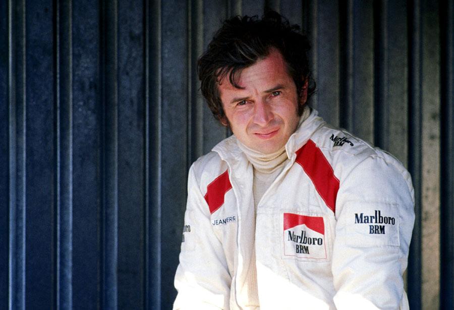 Jean-Pierre Beltoise in the paddock