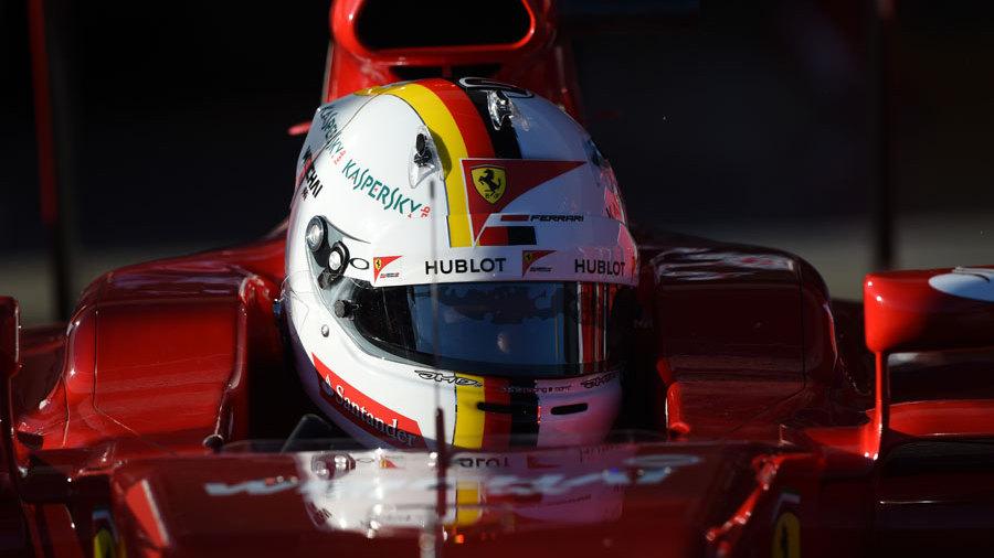 Superb Vettel Keen To Stick With New Helmet Design