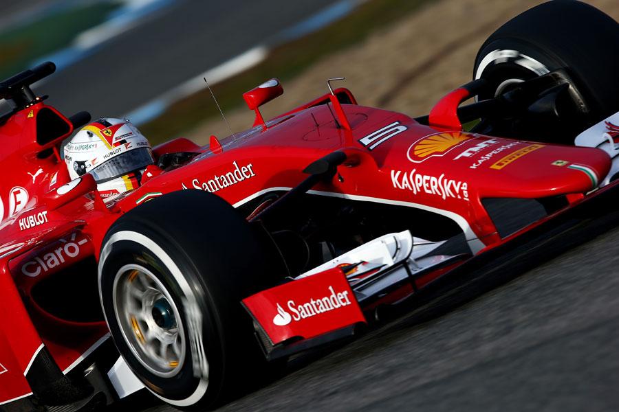 フェラーリを駆るベッテル | Formula 1 画像 | ESPN F1