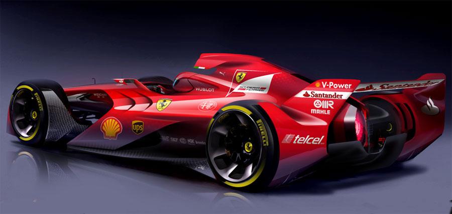 Ferrari Unveils Radical New F1 Concept