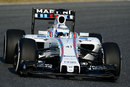 Susie Wolff back in action in the Williams