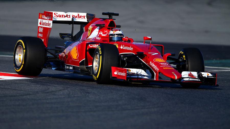Kimi Raikkonen: Ferrari SF15-T 'a very nice car' | Ferrari ...