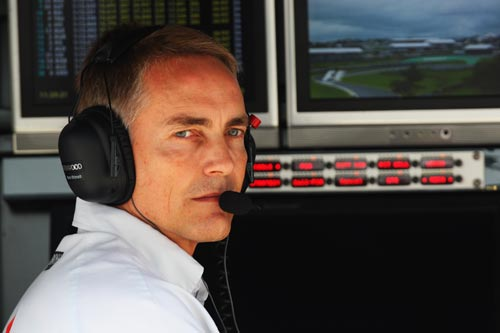 McLaren team principal, Martin Whitmarsh