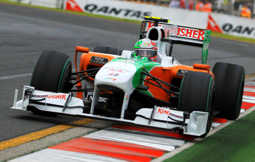 Tonio Liuzzi in the Force India