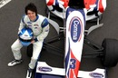 A future world champion? Jolyon Palmer during Formula Two Testing at Snetterton