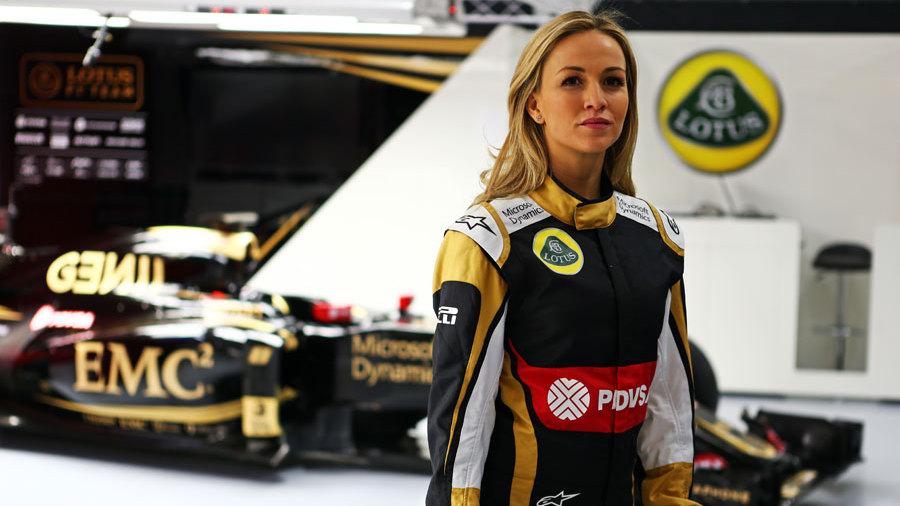 Lotus Signs Carmen Jorda As Development Driver Lotus F1