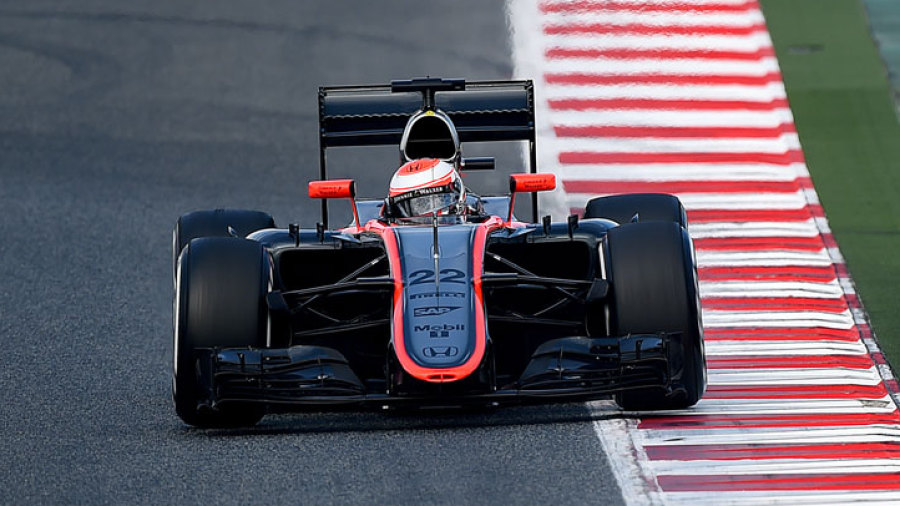 Button hails 'really big step forward' for McLaren