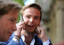 Giedo van der Garde relays the news that he should be driving this weekend for Sauber