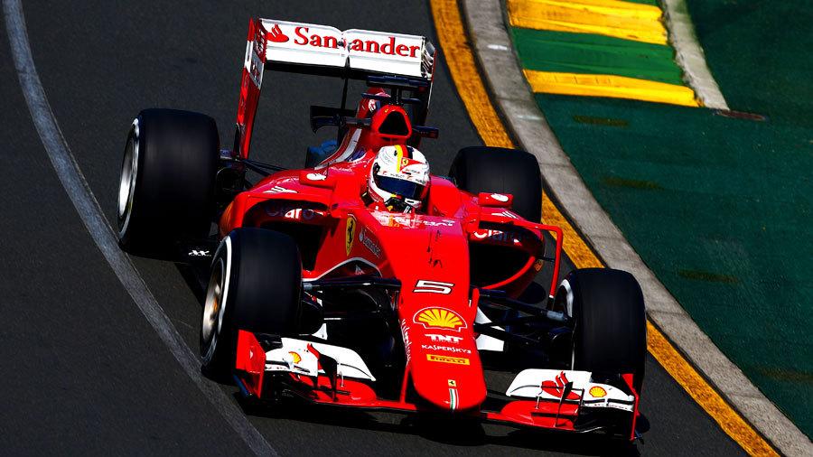 Vettel Names First Ferrari U0027Evau0027