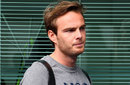 Giedo van der Garde in the Melbourne paddock