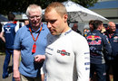 Valtteri Bottas in the paddock