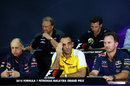 The FIA team press conference