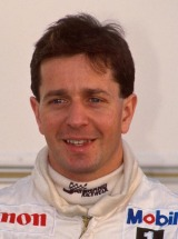 Williams driver Martin Brundle at the 1988 Formula One World Championship