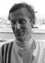 March driver Mike Beuttler at the 1971 Austrian Grand Prix
