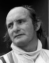 McLaren's Mike Hailwood after his crash at the 1974 German Grand Prix