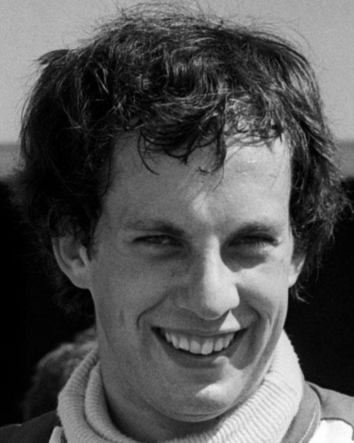 Tony Brise at the French Grand Prix