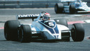 Brabham's Nelson Piquet in action at the 1980 French Grand Prix