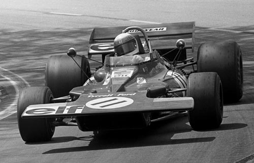 Jackie Stewart wins Tyrrell's first ever grand prix