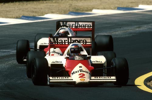 Keke Rosberg finished fourth in Spain in 1986