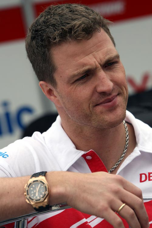 Ralf Schumacher at the Brazillian Grand Prix in 2007