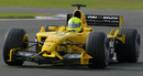 Ralph Firman Jnr in action for Jordan at the 2003 British Grand Prix