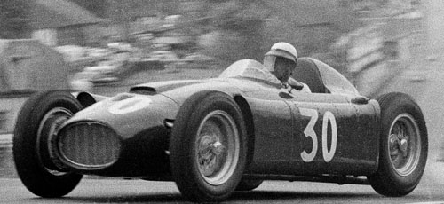 Eugenio Castellotti at the 1955 Belgian Grand Prix