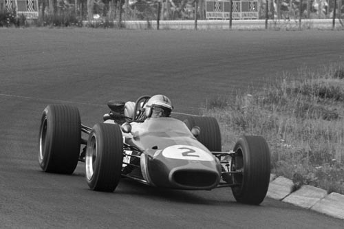 Brabham's Denny Hulme wins the 1967 German Grand Prix