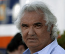 Flavio Briatore in the paddock