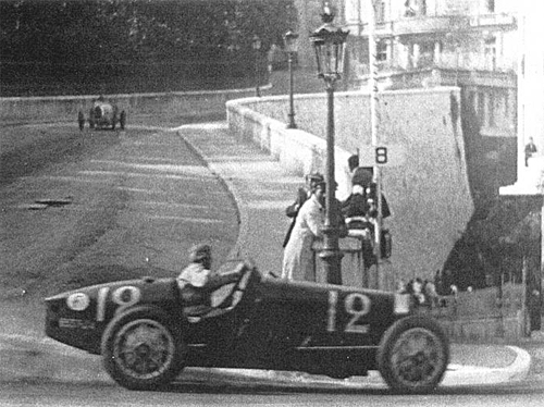 William Grover-Williams on his way to victory in the inaugural Monaco Grand Prix