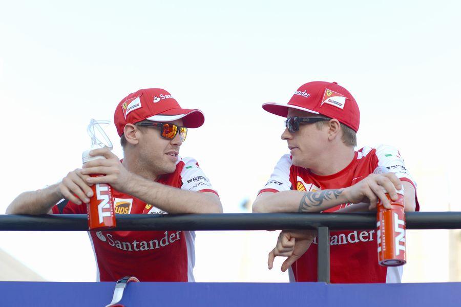 ベッテルとライコネン | Formula 1 画像 | ESPN F1