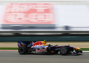 Mark Webber on his way to the fastest lap in final practice