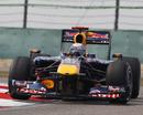 Sebastian Vettel on his way to pole position